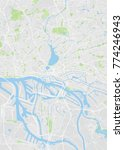hamburg colored vector map | Shutterstock .eps vector #774246943