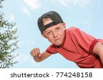 bully making a fist looking... | Shutterstock . vector #774248158