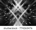 explosion background silver... | Shutterstock . vector #774263476