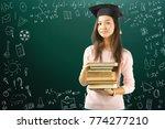 teen girl school  college ... | Shutterstock . vector #774277210