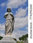 catholic joseph statue with a...   Shutterstock . vector #774290260