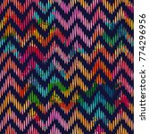 template seamless abstract... | Shutterstock .eps vector #774296956
