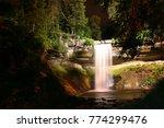 minnehaha waterfall in the night | Shutterstock . vector #774299476