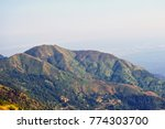 green mountain landscape in... | Shutterstock . vector #774303700