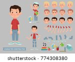 creation of cartoon character... | Shutterstock .eps vector #774308380