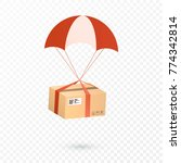 delivery services and e... | Shutterstock .eps vector #774342814