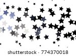 dark blue vector layout with... | Shutterstock .eps vector #774370018