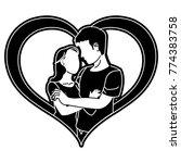 woman and man design | Shutterstock .eps vector #774383758