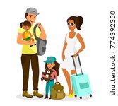 vector illustration of young... | Shutterstock .eps vector #774392350