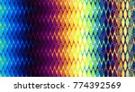 abstract digital fractal...   Shutterstock . vector #774392569