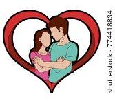 woman and man design | Shutterstock .eps vector #774418834