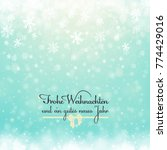 christmas winter abstract... | Shutterstock . vector #774429016