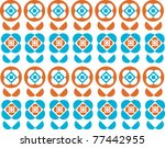 colorful wallpaper of... | Shutterstock .eps vector #77442955