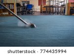 professional steam carpet... | Shutterstock . vector #774435994