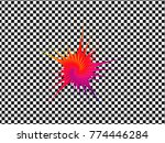 logo and icon flower pattern... | Shutterstock .eps vector #774446284