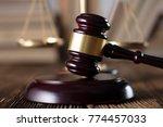 judge  justice concept... | Shutterstock . vector #774457033