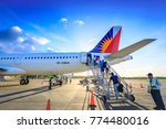 philippine airlines  pal  at... | Shutterstock . vector #774480016