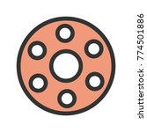 bobbin  machine  thread   Shutterstock .eps vector #774501886
