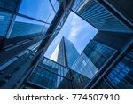 low angle view of skyscrapers... | Shutterstock . vector #774507910