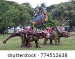 lumpini park bangkok thailand ... | Shutterstock . vector #774512638