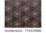 flower pattern background vector | Shutterstock .eps vector #774519880