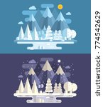 web banners with abstract...   Shutterstock .eps vector #774542629