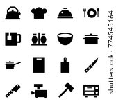 origami style icon set   kettle ... | Shutterstock .eps vector #774545164