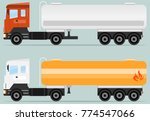 tank truck  tanker icon. a...   Shutterstock .eps vector #774547066