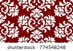 luxury old fashioned damask... | Shutterstock .eps vector #774548248