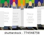 vector illustration of people... | Shutterstock .eps vector #774548758