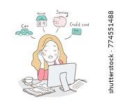 vector illustration business... | Shutterstock .eps vector #774551488