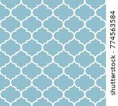 moroccan pattern  hampton... | Shutterstock .eps vector #774563584