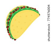 taco vector illustration | Shutterstock .eps vector #774576004