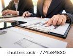 administrator business man... | Shutterstock . vector #774584830