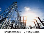 main power plant energy ideas... | Shutterstock . vector #774593386