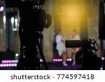 video production camera social... | Shutterstock . vector #774597418