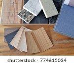 samples of material  wood  ...   Shutterstock . vector #774615034