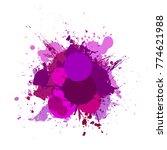 banner blot presentation ... | Shutterstock . vector #774621988