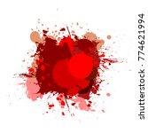 banner blot presentation ... | Shutterstock . vector #774621994