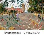 tay ninh  vietnam   2013  cao... | Shutterstock . vector #774624670