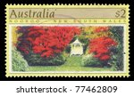 australia   circa 1989  a stamp ...   Shutterstock . vector #77462809