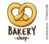 vector illustration of a bakery ... | Shutterstock .eps vector #774641188