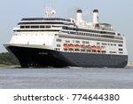 the cruise ship rotterdam... | Shutterstock . vector #774644380