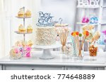 """boy or girl"" cake and... 