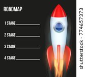 business concept of timeline...   Shutterstock .eps vector #774657373