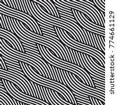 vector seamless pattern. modern ... | Shutterstock .eps vector #774661129