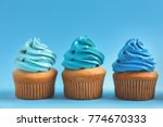Delicious Cupcakes On Color...
