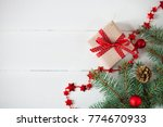 christmas and new year holidays ...   Shutterstock . vector #774670933