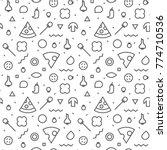 vector seamless texture....   Shutterstock .eps vector #774710536