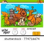 cartoon vector illustration of... | Shutterstock .eps vector #774716674